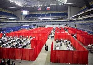 Жители Сан-Антонио узнали об церкви АСД благодаря бесплатной клинике, открытой на стадионе.
