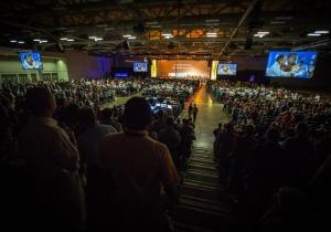 Более 5500 человек участвуют в пасторской конференции Северо-Американского дивизиона недалеко от Сан-Антонио.