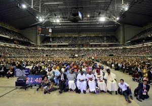 ФОТО: Субботнее богослужение в последний день сессии