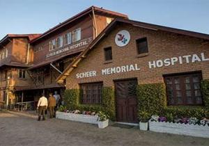 Стенды на выставке: Госпиталь Scheer на вершине мира