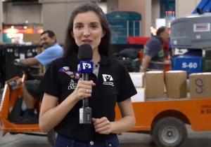 Видеорепортаж Hope Channel (Novo Tempo) о том, как организована сфера обслуживания на сессии