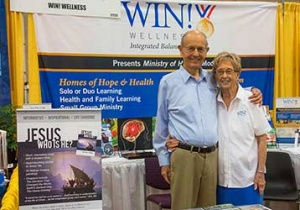 Стенды на выставке: центр здоровья WIN